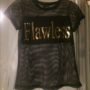 A flawless mesh t-skirt from rue21